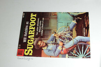 SUGARFOOT FOUR COLOR 1059 1960 Will Hutchins