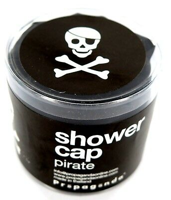 Propaganda PIRATE Skull & Crossbones Shower Cap Bath Hair Cover Waterproof