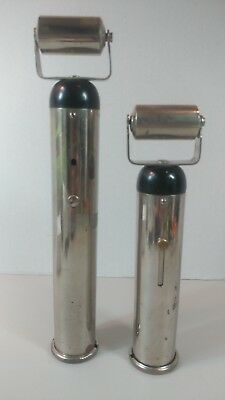 Pair of 1919 ELECTREAT VINTAGE QUACK MEDICAL DEVICES MECHANICAL HEART 1  WORKING