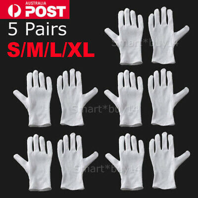 5 pairs L UNDER BOXING COTTON WHITE INNERS GLOVES SWEAT LINER HAND PROTECTOR