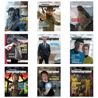 American Cinematographer Magazine's DVD - HUGE 146 Archive PDF's Issues + Extras