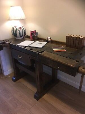 Wood Working Bench/writing table/ study desk/reclaimed wood
