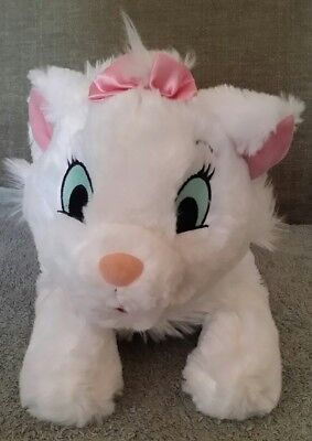 Disney Store Exclusive 14 Marie Aristocats White Cat Plush Stuffed