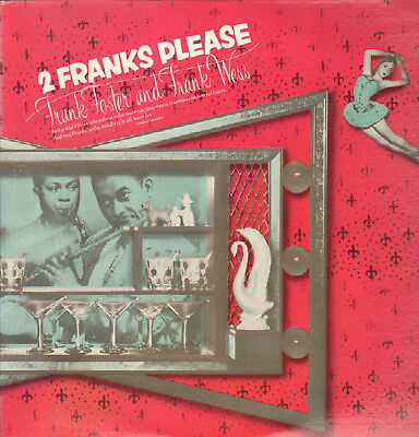 Frank Foster+Frank Wess-2-Lp- 2 Franks Please- Savoy-Usa- 1980- Mint