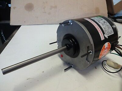 Century Condenser Fan Motor F48X79A01, 1/3 Hp, 825 Rpm, 208/230 V 1Ph, High Effi