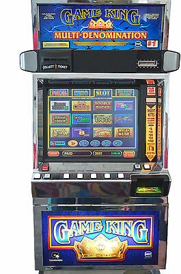 IGT GAME KING 6.0 POKER MACHINE with LCD (COINLESS) (TICKET PRINTER)