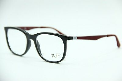 8df9ccb712dd1 New Ray-Ban Rb 7078 5598 Gray Eyeglasses Authentic Frame Rx Rb7078 53-18