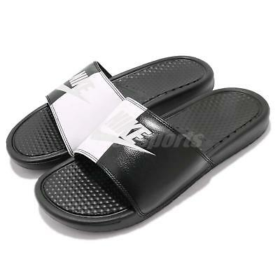 new style 9c673 16c41 Nike Benassi JDI Black White Yin Yang Men Sports Sandal Slide Slipper 343880 -015