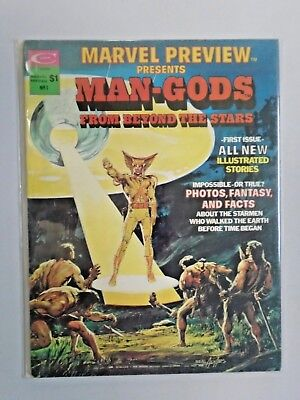 Marvel Preview Magazine #1 - see pics - 5.0 - 1975