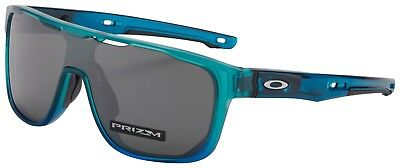 Oakley Crossrange Shield Sunglasses OO9387-0831 Arctic Mist | Prizm Black BNIB