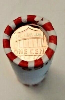 NEW 2017-P BANK WRAPPED BU LINCOLN SHIELD PENNY CENT ROLL First Mint Mark 225th