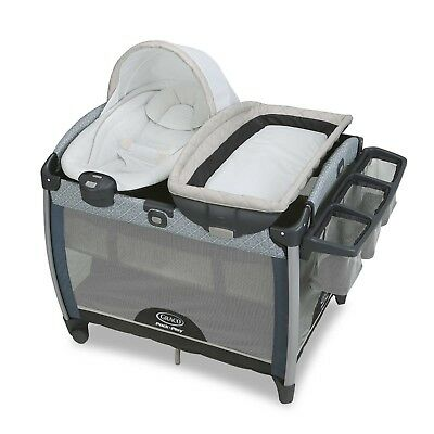 Graco Pack 'n Play Quick Connect Portable Bouncer with Bassinet Taylor