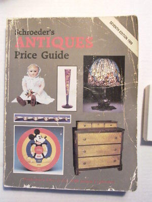Schroeders Antiques Guide 7th Edition 1989 VG Orig.Condition&Complete,WOW! L@@K!