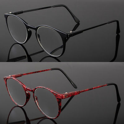Retro Oval Round Clubmaster Reader Reading Glasses For Men or Women 1.00-4.00