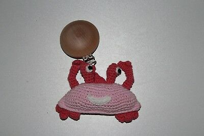 Attache poussette crochet crabe Silly