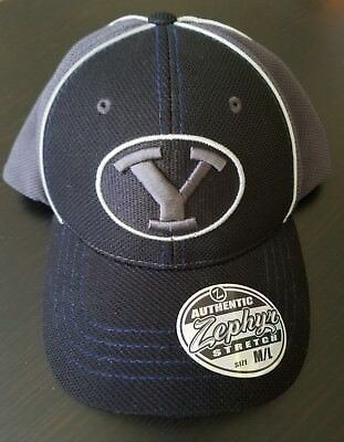 low price ae186 ff3e7 BYU Cougars Official NCAA T-Storm University Hat Cap Authentic Zephyr  Stretch