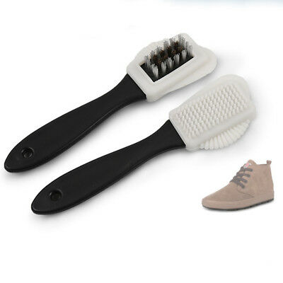 3-Sides Cleaning Brush Eraser For Suede Nubuck Shoes Boot Cleaner 2018 New