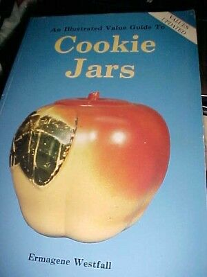 Vintage ILLUSTRATED VALUE GUIDE TO COOKIE JARS BY ERMAGENE WESTFALL