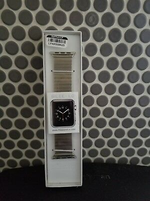 Rilee And Lo XW22M29LSL Silver Band 38mm Apple Watch Strp Xs/s Stainless Steel