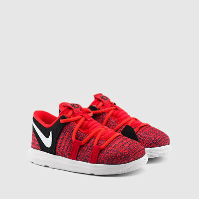 9931b84e8a19 NEW YOUTH NIKE KD 10 University Red Platinum Toddler (TD) 918363-600 ...