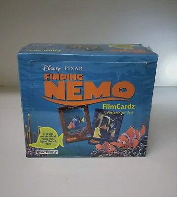 Disney Pixar Finding Nemo FilmCardz - Sealed Trading Card Box - ArtBox 2003