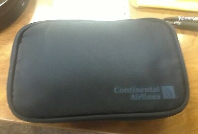 Vintage Continental Airlines Amenity Kit NOS Unused New in Bag