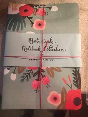 Rifle Paper Co.-Botanicals Notebook Collection (2 Notebook Set)