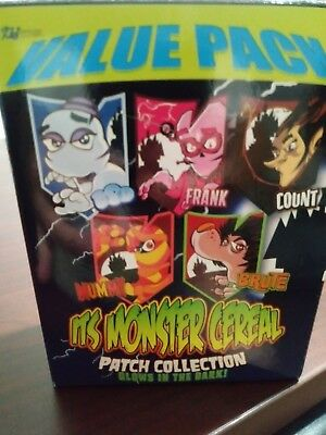 Monster Cereal Patch Collection