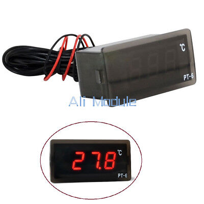 220V -50 ℃ ~ + 110 ℃ Digital Thermometer Temperature Meter Aquarium +Sensor AM