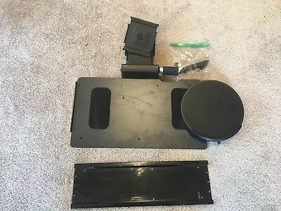 "Humanscale 19"" Keyboard Tray Slider with 18"" track & 8.5"" Mouse Platform 6G 950?"