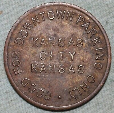 Kansas City  Parking Token~ Good For Downtown Only~Minnesota