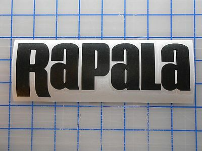 "Rapala Decal Sticker 5.5"" 7.5"" 11"" Fishing Lures Bass X Shad Rap Husky Jerk Hook"