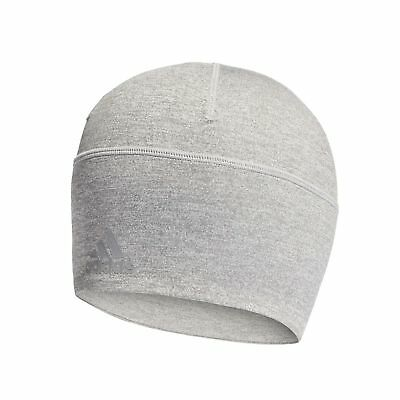 d2e935672c9 adidas Climalite Fitted Sports Running Training Beanie Hat Grey - Mens 1 ...