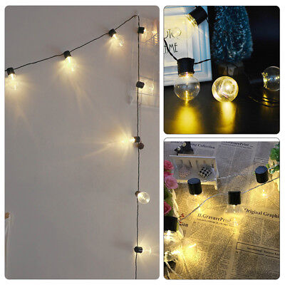5M Fairy LED String Lights Christmas Round Ball Blubs Wedding Party Decor Lamp