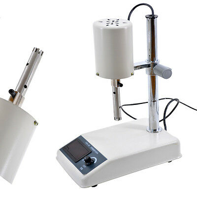200W Adjustable Digtal Emulsifying Homogenizer Laboratory Dispenser US