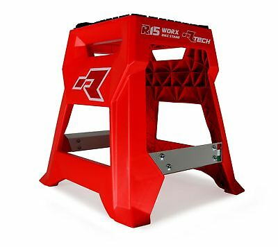 Racetech NEW Mx R15 Red Honda Worx Motorcycle Motocross Dirt Bike Stand