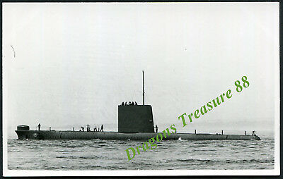 H.M.S. ORACLE, Photo, Royal Navy Oberon-class Submarine,1963 - 1993