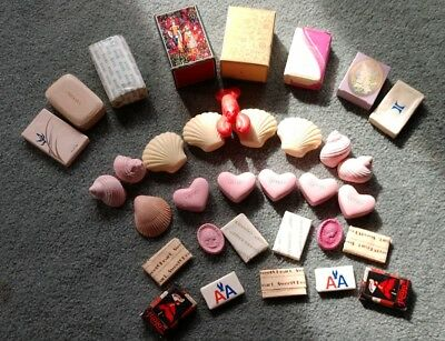 Large Vintage Lot of Various AVON Soaps