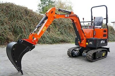 ⭐️🔥 Microbagger Minibagger Nante NT10 910 kg inkl MS01 Schnellwechsler 🔥⭐