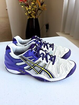 Womens Asics Gel-Resolution 5 Tennis Shoe E350Y Sz 8 US