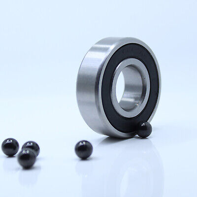 35x62x14 mm S6007-2RS Stainless HYBRID CERAMIC Ball Bearings BLK 6007RS QTY 4