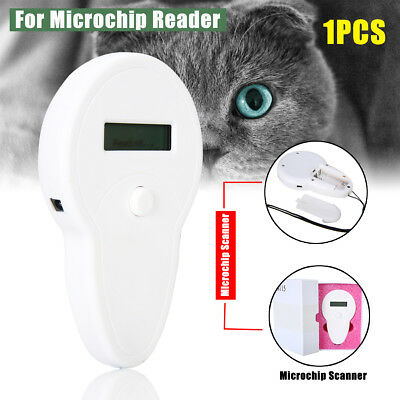 RFID ISO FDX-B Animal Chip Dog Reader Microchip Handheld Pet Recognition Scanner