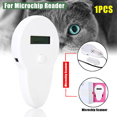 RFID ISO FDX-B Animal Chip Reader Microchip Handheld Pet Recognition Scanner