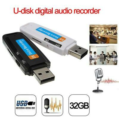 USB Disk Voice Recorder  support 32GB Rechargeable