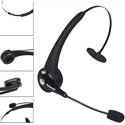 Over the Head Noise Canceling Bluetooth Headphone With Mic for Truck Driver