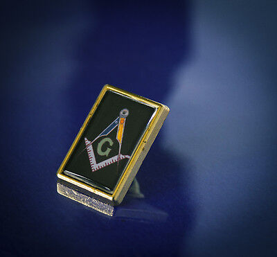 Fantastic Masonic Lapel Tie Pin Badge