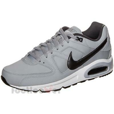 sale retailer f9c09 edb4b Scarpe Nike Air Max Command Leather 749760 012 Sneakers Uomo Wolf Grey  Casual