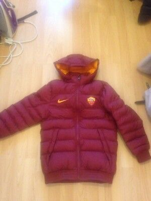 As Roma Nike Boys Jacket Small Age 8/9