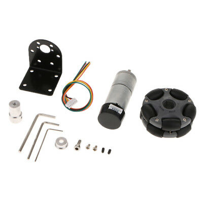 DIY Smart Robot Arduino Kit Wheel Coupling + Reduction Motor + Motor Bracket