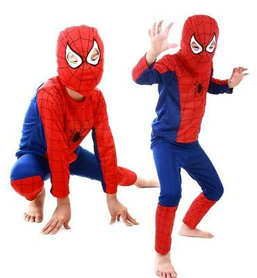 Boys Baby Kids Spiderman Superman Batman Cosplay Costume Halloween Clothing